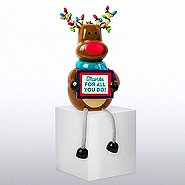 Holiday Shelfee - Reindeer - Thanks for all you Do