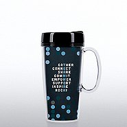 Travel Mug with Handle - Teamwork Crossword