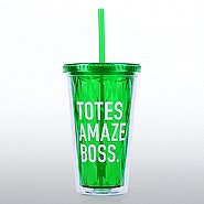 Optic Twist Top Tumbler - Totes Amaze Boss