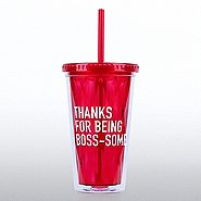 Optic Twist Top Tumbler - Thanks for Being Boss-some