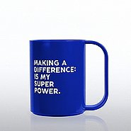 Value Coffee Mug - Making a Difference: Is My Super Power