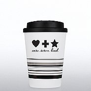 Striped Travel Mug - Serve, Care, Lead