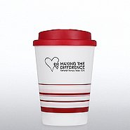 Striped Travel Mug - Making a Difference: Nurses Week 2015