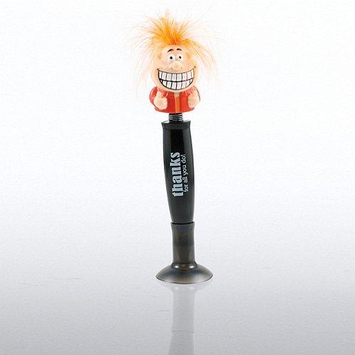 Thanks for All You Do! Goofy Guy Talking Pen