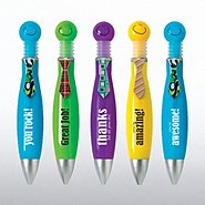 Big Click Smiley Pens - Positive Praise