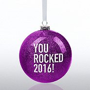 Holiday Glitter Bulb - You Rocked 2016