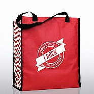 Heavy Duty Shopping Tote - I Rock