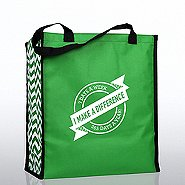 Heavy Duty Shopping Tote - I Make a Difference