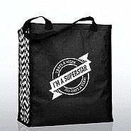 Heavy Duty Shopping Tote - I'm a Superstar!