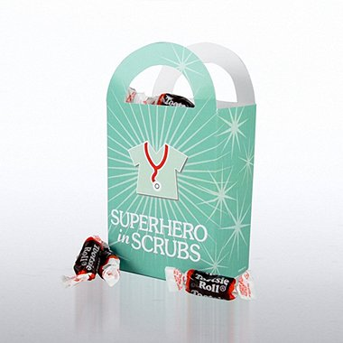 Fun Treat Gift Bag - Superhero in Scrubs