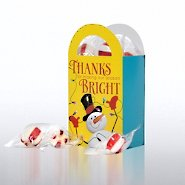 Fun Treat Gift Bag - Snowman Thanks for Making Season Bright
