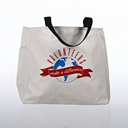 Tote Bag - Volunteers Make a Difference