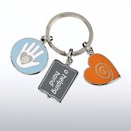 Simply Charming Key Chain - Helping Hand