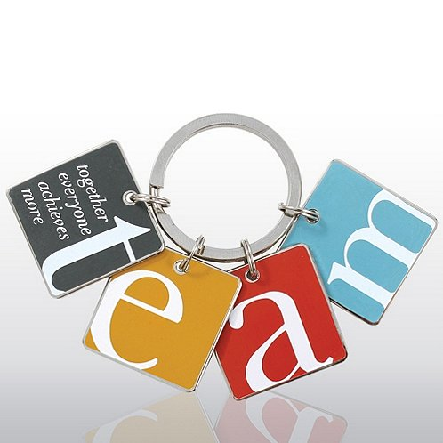 TEAM Simply Charming Key Chain