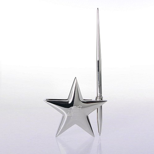 You Make the Difference Star Pen & Card Holder