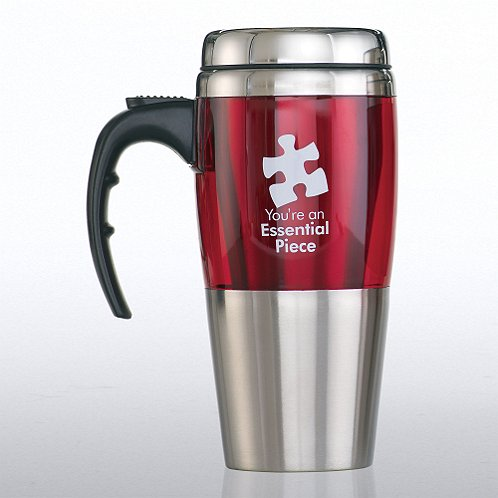 Stainless Steel Travel Mug: Essential Piece