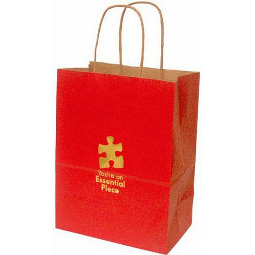 Essential Piece Kraft Paper Gift Bag