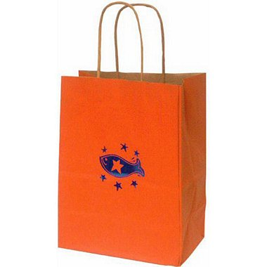 Kraft Paper Gift Bag - FISH