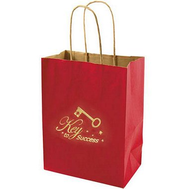 Kraft Paper Gift Bag - Key to Success