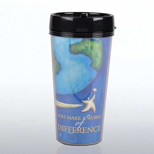 You Make a World of Difference Travel Mug