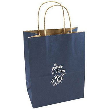 Kraft Paper Gift Bag - Penguin: The Power of Team
