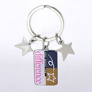 Simply Charming Key Chain - You Make the Difference