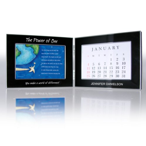You Make a World of Difference Perpetual Desk Calendar