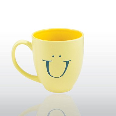 Bistro Mug - Smiley Face