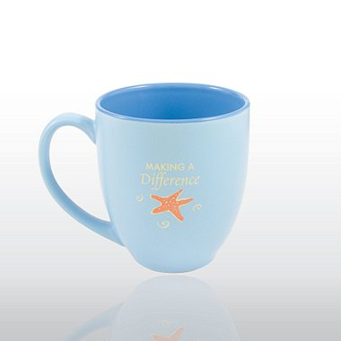Bistro Mug - Starfish: Making a Difference