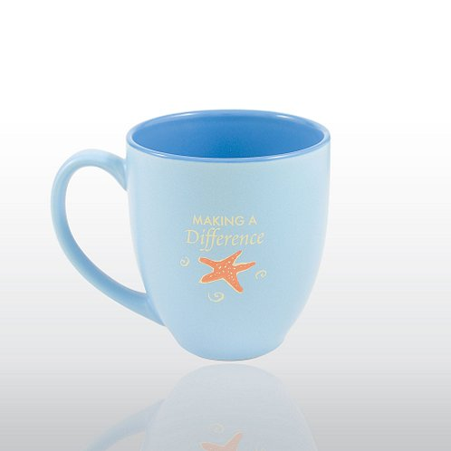 Starfish: Making a Difference Bistro Mug