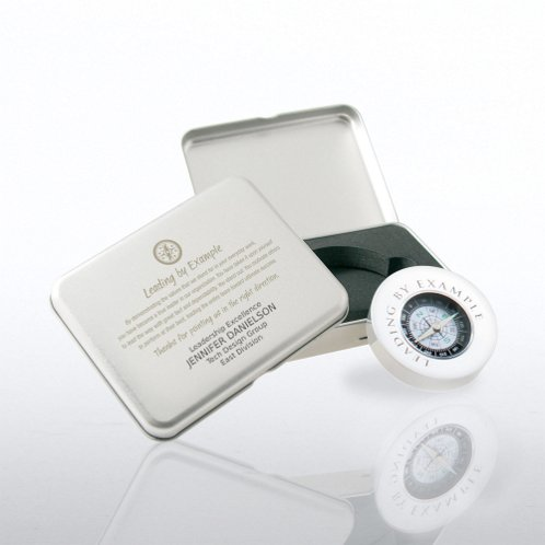 Compass Silver Gift Set