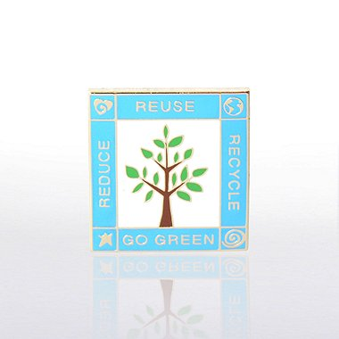 Lapel Pin - Little Green Tree