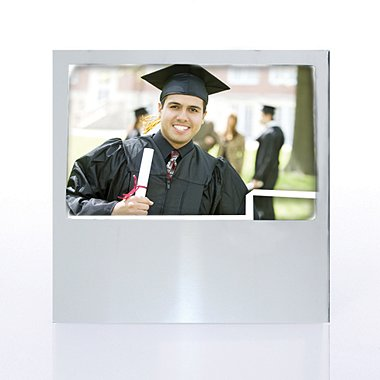 Defining Moments - Engravable Photo Frame - Silver