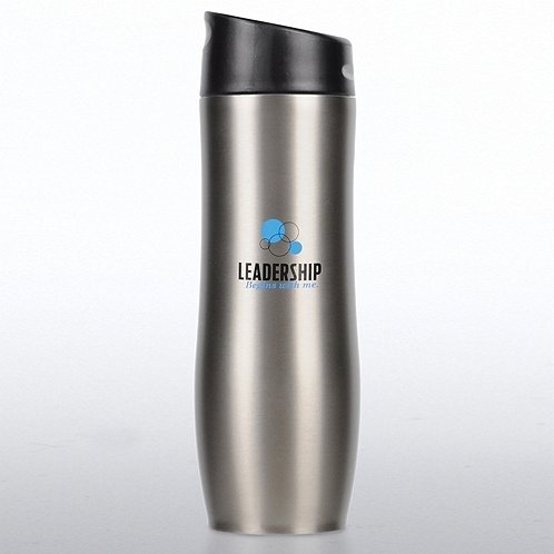 Leadership Begins with Me Vacuum-Sealed Travel Mug