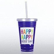 Twist Top Tumbler - Happy Boss' Day