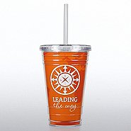 Twist Top Tumbler - Compass: Leading the Way