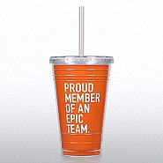 Twist Top Tumbler -  Proud Member of an Epic Team