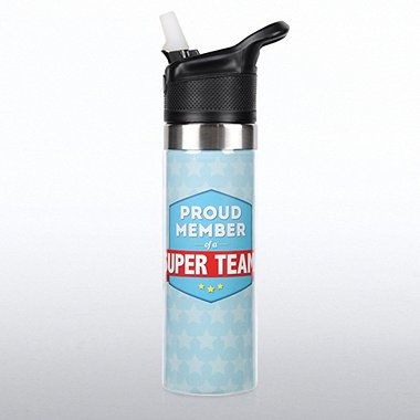 Storm Water Bottle - Proud Member of a Super Team