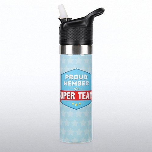 Proud Member of a Super Team Storm Water Bottle
