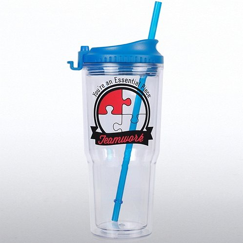Teamwork: You're an Essential Piece Gulp Tumbler