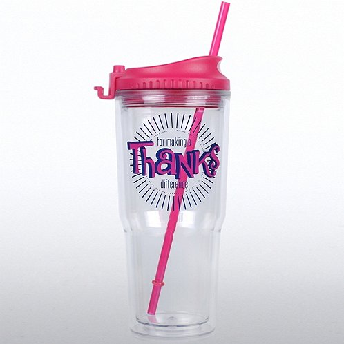 Thanks for Making a Difference Gulp Tumbler