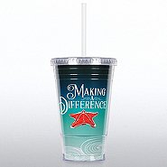 Twist Top Tumbler - Seascape Starfish: Making a Difference
