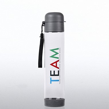 Flip Top Water Bottle - T.E.A.M