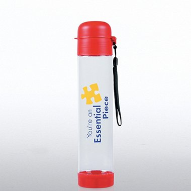 Flip Top Water Bottle - Essential Piece