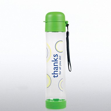 Flip Top Water Bottle - Thanks for All You Do