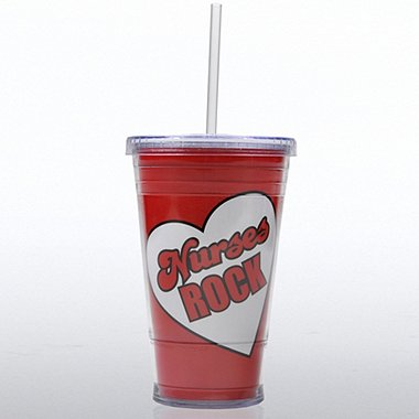 Twist Top Tumbler - Nurses Rock