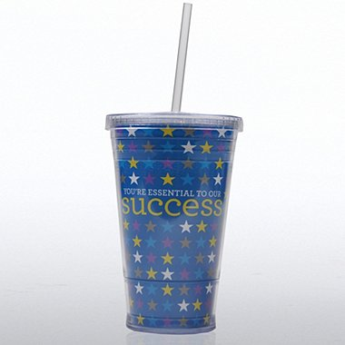 Twist Top Tumbler - You're Essential to Our Success