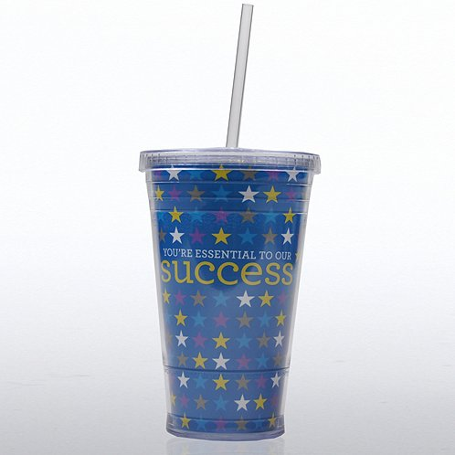 You're Essential to Our Success Twist Top Tumbler