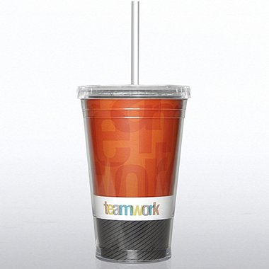 Twist Top Tumbler - Teamwork