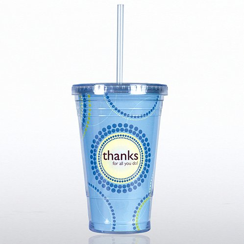 Thanks for All You Do! Twist Top Tumbler